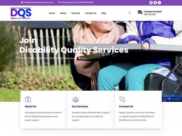 Disability Quality Services