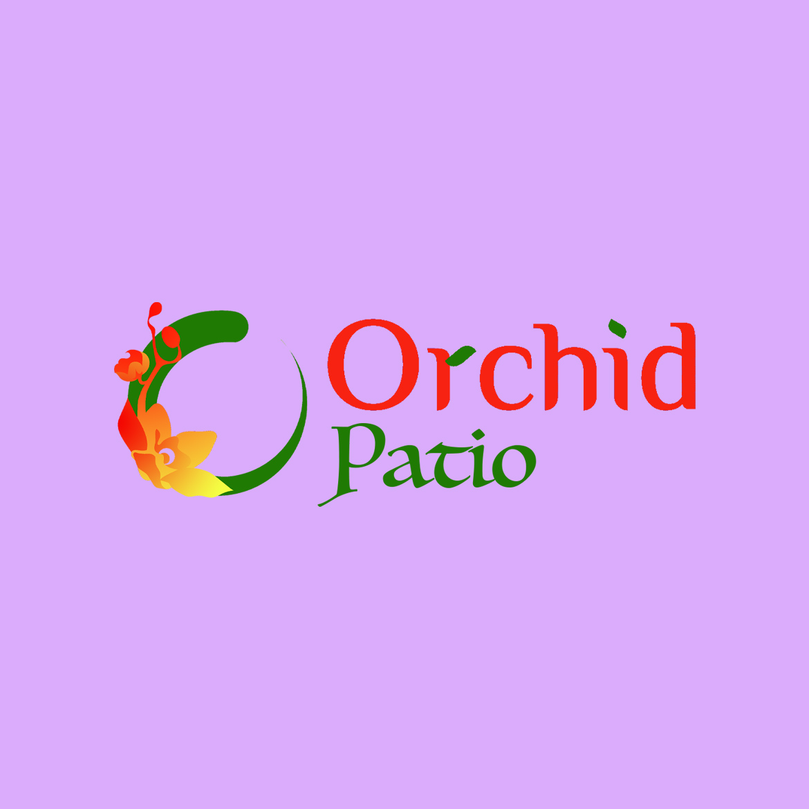 Branding – The Orchid Patio